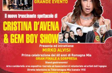 Buon Anno Gatteo 2014: concerto di Cristina d'Avena, Gem Boy e Moreno il Biondo