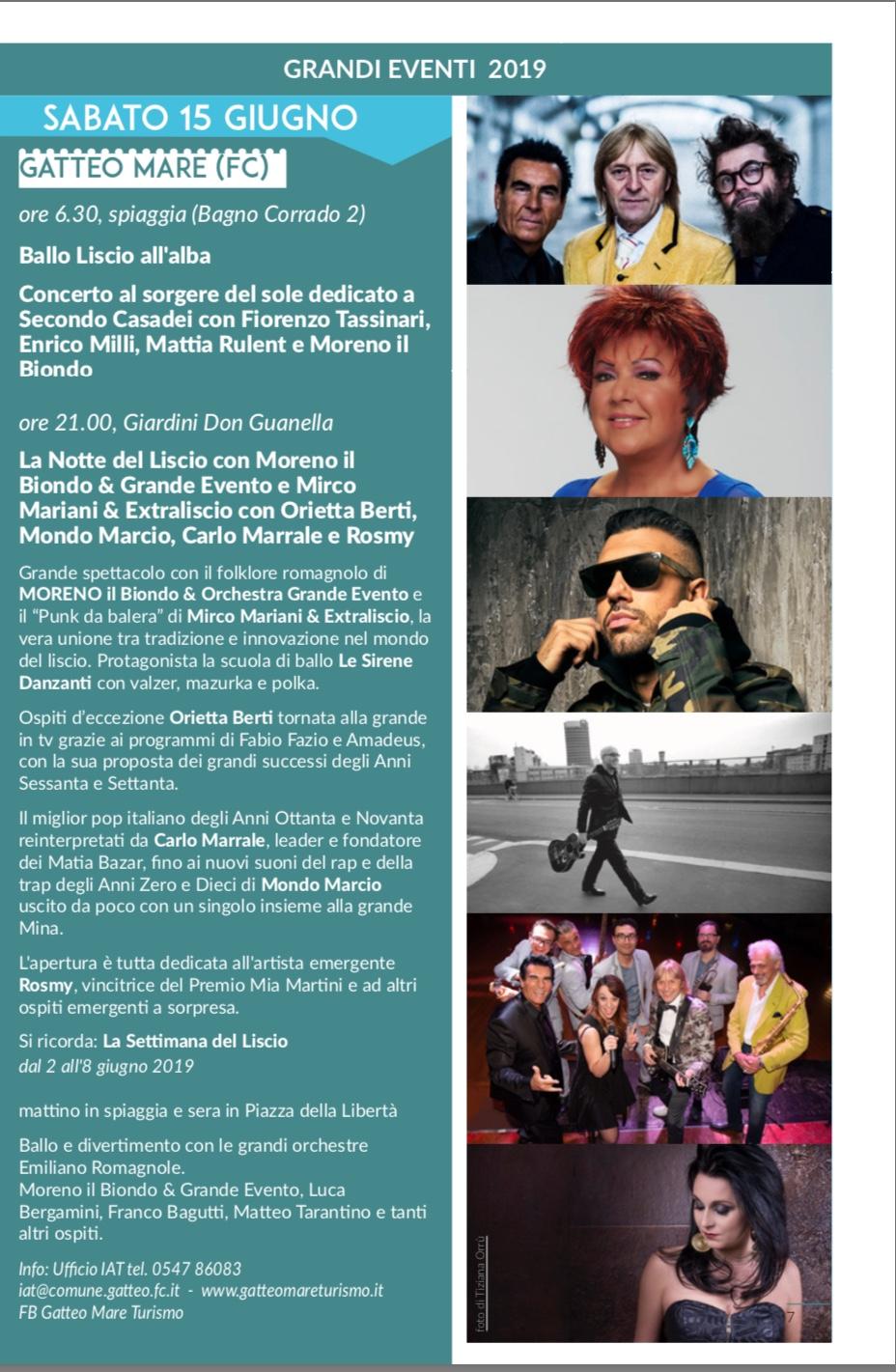 Calendario Orchestre Liscio.La Notte Del Liscio 15 Giugno 2019 Orchestra Grande Evento